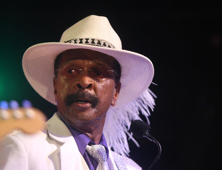 Larry Graham & Graham Central Station funkfeest in Amsterdam: Foto's