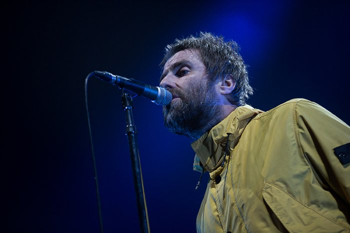 Liam Gallagher live in AFAS Live: Foto's