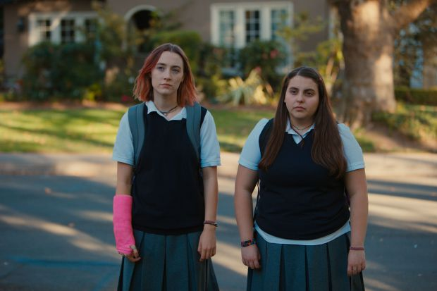 LADY BIRD wint twee Golden Globes