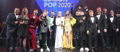 Fotoserie: Uitreiking Edisons Pop 2020