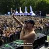Fotoserie: Lil Kleine verovert Tilburgse Leijpark