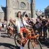 Olympische medaillewinnaars in Den Haag: Foto's