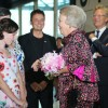 Prinses Beatrix woont Free To Move bij in Zuiderstrandtheater