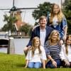 Jaarlijkse fotosessie voor Koning Willem-Alexander en zijn gezin