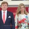 Koning en Koningin bij Dia di Bandera in Curaçao
