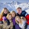 Traditionele fotosessie koninklijke familie in Lech