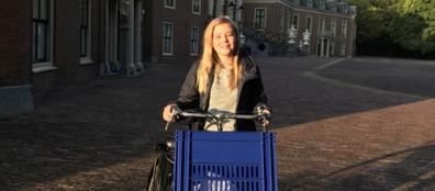 Prinses Ariane naar het Christelijk Gymnasium Sorghvliet in Den Haag
